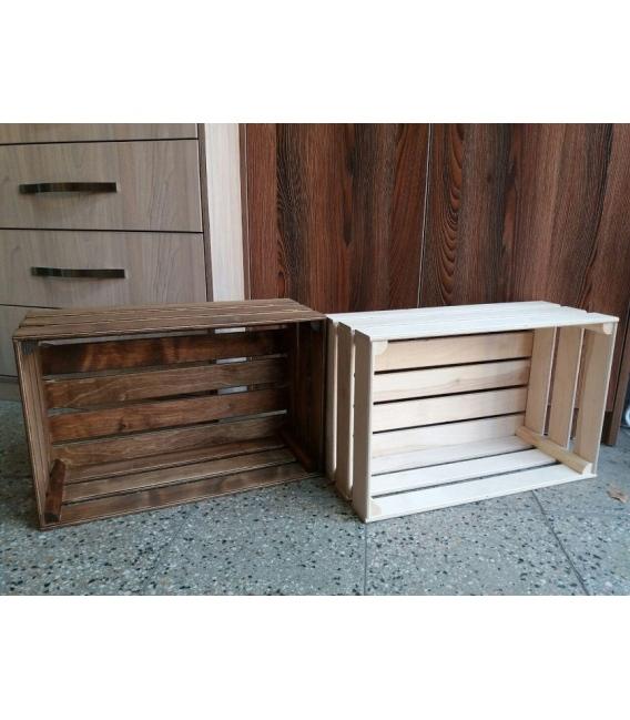 جعبه میوه چوبی دکوری