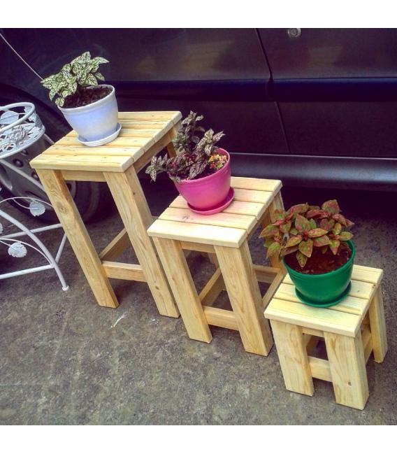 چهارپایه-چوبی